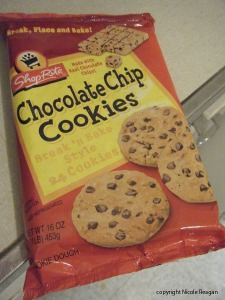 chocolate chip package